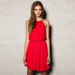 Free-Shipping-Hot-Sale-Sleeveless-Dresses-for-Women-Summer-2013-Red-Dark-Blue-Plus-Size-Wear