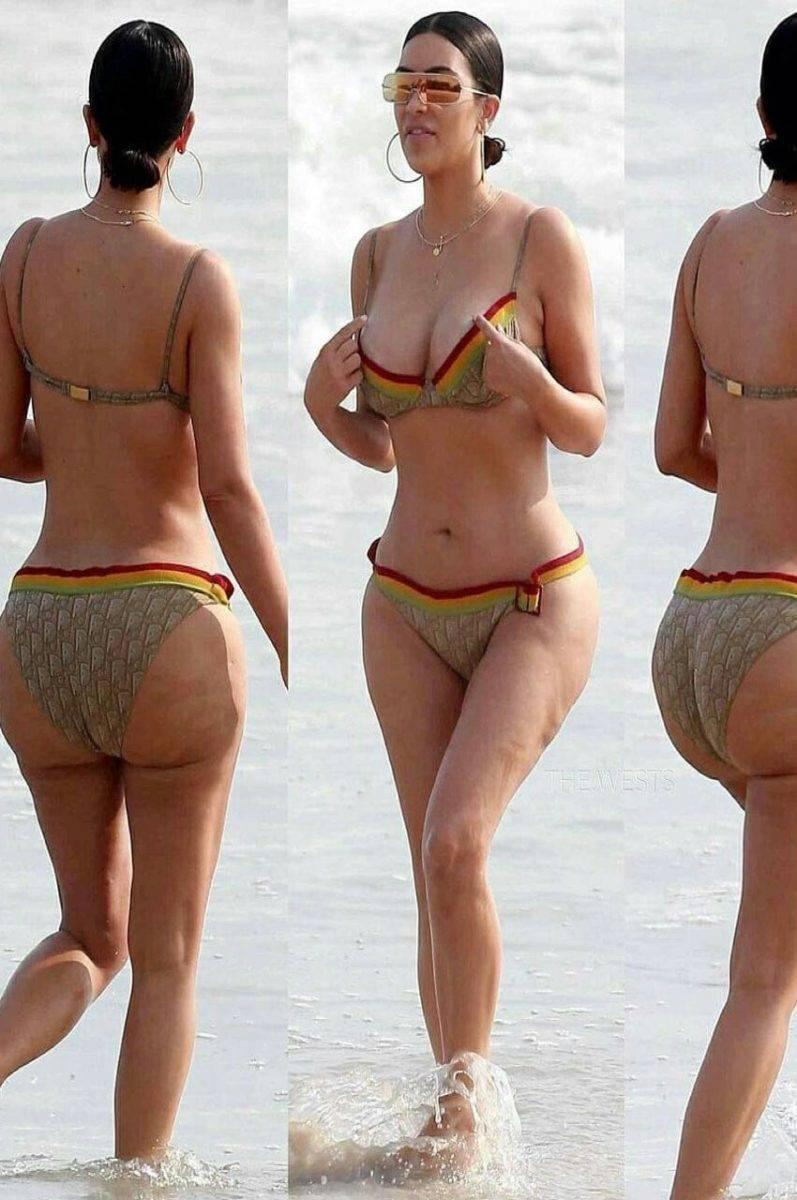 Bellezze a confronto Venere di Milo Vs Kim Kardashian-2