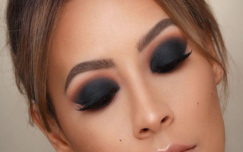 Trucco smokey eyes-1