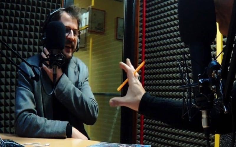 Napoli fashion on the road in radio-1
